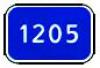 6.13 Километровый знак  (одна и две цифры)