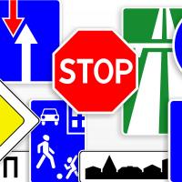 Маски дорожных знаков