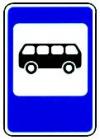 5.16 Место остановки автобуса и (или) троллейбуса